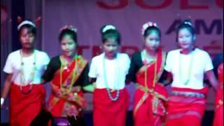 BEAUTIFUL ADI MISING GIRLS DANCE PERFORM  SOLUNG FESTIVAL AT BOGIBIL