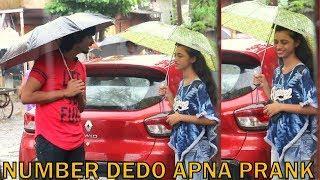 NUMBER DEDO APNA PRANK ON HOT GIRLS | PRANK IN INDIA | BY VJ PAWAN SINGH