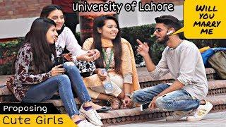 Bluetooth Prank Proposing Cute Girls - Singing Mix | UOL | Prank In Pakistan