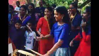 Edathirinjikkari Girl dance with singarimelam | Chendamelam | Balettan Molalledi | Girl Viral Dance