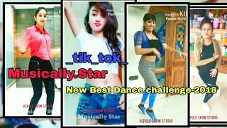 Musically-Star Dance Challenge tik tok musically hot girls dance By people show studio
