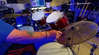 Elton John All The Young Girls Love Alice Drum Cover