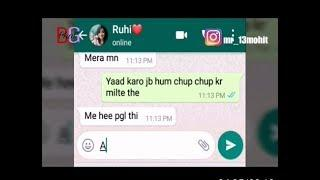 Bf chat x gf ????    most heart ❤ touching Chatting    boy ????love but girl??????    Girl only frie