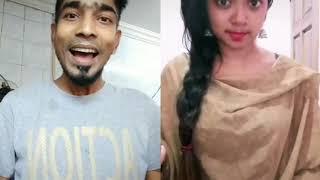 Tik tok Malaysian cute Tamil girls and boys tik tok Tamil love anbu(1)