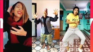 Nepali Girls & Boys Dance in  Nepali Songs in Musically || Musical.ly Nepal