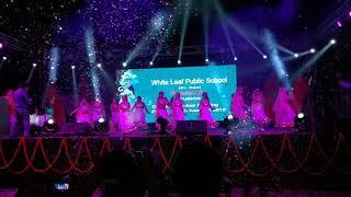 ||Girls dance of WHITE LEAF PUBLIC SCHOOL on annual day 2018 ||