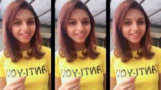 Cute Tamil Girls On TikTok Musically   Romance, Funny, Love Cute Videos Part-4