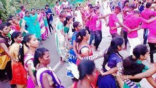Aadivasi village Dance Boys and girls Zai Patilpada, Ak Aadiwasi Village.