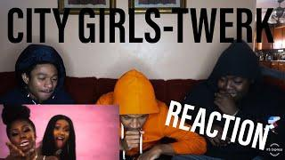 City Girls - Twerk ft. Cardi B (Official Music Video) REACTION VIDEO