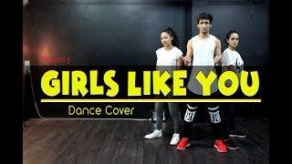 Girls Like You Dance Cover | Maroon 5 | Cardi B | Mohit Jain's Dance Institute MJDi