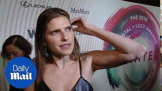 Lake Bell on womanhood at the 2018 Women in Film Awards - Daily Mail