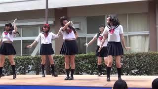 4K Japanese high school girls dance (JK 文化祭 ダンス)