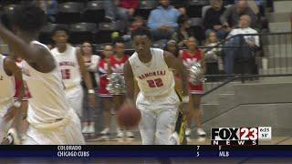 VIDEO - Memorial, Booker T. boys advance to state semifinals; Coweta, Rogers girls fall short