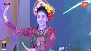 Malaysian Girls Group Dance Performance | Bathukamma Celebration 2018 in Hyderabad | YOYO TV