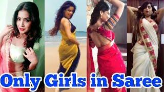 Kamariya Hila De Stree Musically Beautiful Girls Saree Dance | Nora Fatehi |