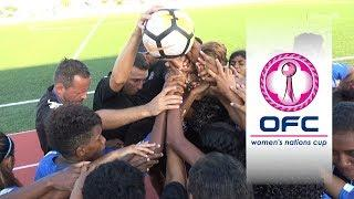 2018 OFC WOMEN'S NATIONS CUP | SEMI-FINAL HIGHLIGHTS | Papua New Guinea v Fiji