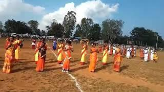 Girls Dance performance Football final ceremony 2018