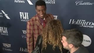 'Black Panther' stars stun at THR Women in Entertainment breakfast