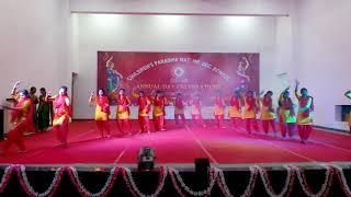 Annual day celebration 9th girls dance of CPMHSS 2019