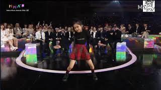 Na haeun Dance Girl group at MMA 2018