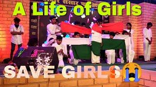 A Life of Girls | Happy New year 2019 | Theme act | Dance | save Girls | Keshav D Artistx