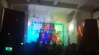 A Group dance by Girls on the eve of NEW YEAR