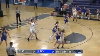 Women's Basketball Highlights vs Assumption Nov. 20, 2018