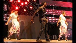 Ibadan Girls & Boys Dance Groups Shows Off Amazing Skills At Mayorkun Live In Ibadan