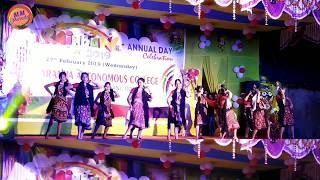 Sumbalpuri College girls Dance || Karanjia Autonomous College Annual Function 2019