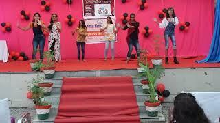 Teachers day   9th girls Dance   Care English School