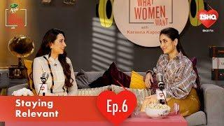 Karisma Kapoor & Kareena Kapoor Khan on Staying Relevant | Dabur Amla What Women Want | 104.8 Ishq