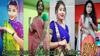 Assamese beautiful girls on TikTok musical.ly video 2019 || by xengo
