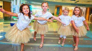 4 Girls Treated at Same Hospital Reunite to Celebrate Surviving Cancer Together