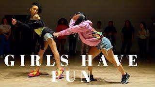 Girls Have Fun - Tyga FT G Eazy DANCE VIDEO | Dana Alexa X Aryan Davenport