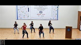Hindi Fortnight 2K18 Dance Performance by Girls || IMU Chennai
