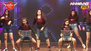 GIRLS DANCE PERFOMANCES | stage perfomance | Khwaab 2019 | Jackson Dance Zone