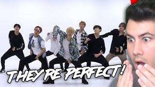 Reacting to BTS Dance Practices FOR FIRST TIME (Dionysus, 21st Century Girl, Not Today, I Like It)
