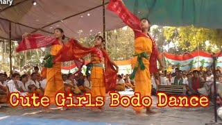Cute Girls Dance Performance || At Basvagoti