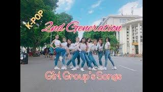 [KPOP IN PUBLIC CHALLENGE] Medley Girl Group's Songs Dance cover by W-Unit from Vietnam