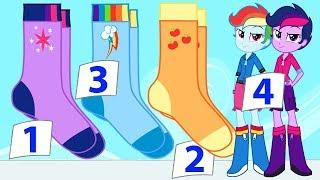 MLP Equestria Girls Species Swap Collection Animation - My Little Pony Video Episode For Kids New HD