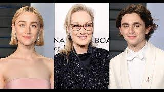 Meryl Streep, Saoirse Ronan, and Timothée Chalamet in talks for Greta Gerwig's 'Little