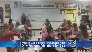 Principal Apologizes For Dress Code Video That Only Featured Girls