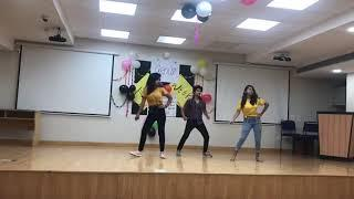 Girls Dance at college Theme Group Week