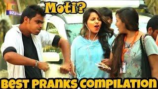 "Calling Cute Girls ""MOTI"" Best Indian Pranks Compilation 2018 