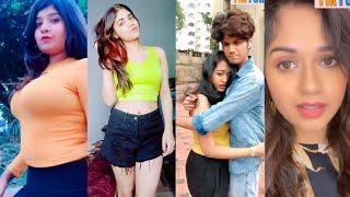 Tiktok hot girls dance videos   Tiktok funny videos   jannat jubair manjul faisu bindass kavya