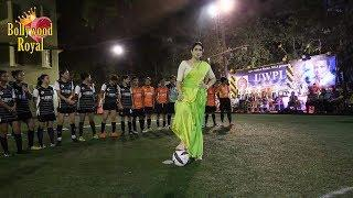 Sagarika Ghatge Promotion Of The Film 'Monsoon Football' At 'Women's Football League'Part 1