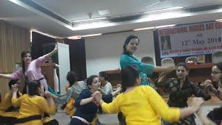 Beautiful Nursing Girls Pahari Dance ???? इतनी सारी सुंदर लड़कियाँ एक साथ???? Awesome Pahari Dance V