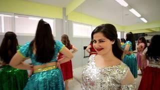 Greek girls perform Bollywood dance | EK DO TEEN | BAAGHI 2 | Anna Dimitratou Choreography