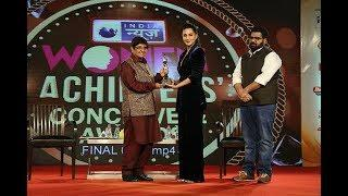 Women Achievers Conclave & Awards: Shruti Haasan awarded for excellence in films