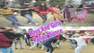 Girls Dance Video || Boys Dance Video || Pahari Dance Video || Pahari natti